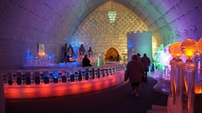 Inside the Ice Museum