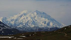 Denali--Mt McKinley view from Wonder Lake