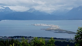 Homer Spit view