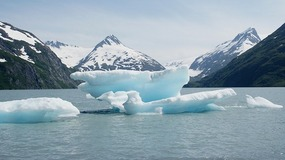 Portage Valley Iceberg