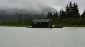 Stikine River -  Floating Cabins