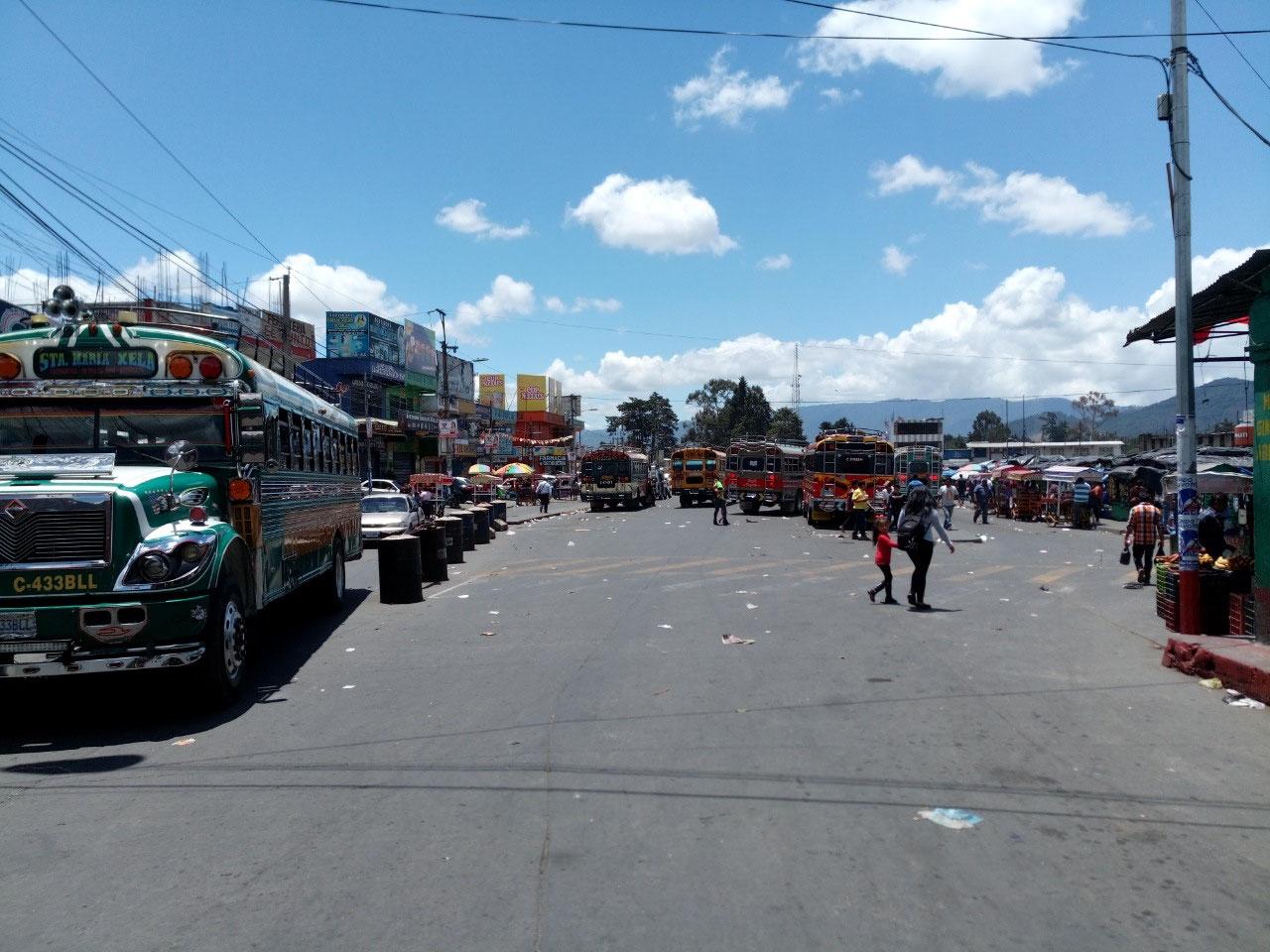 typical Latin American 'terminal'