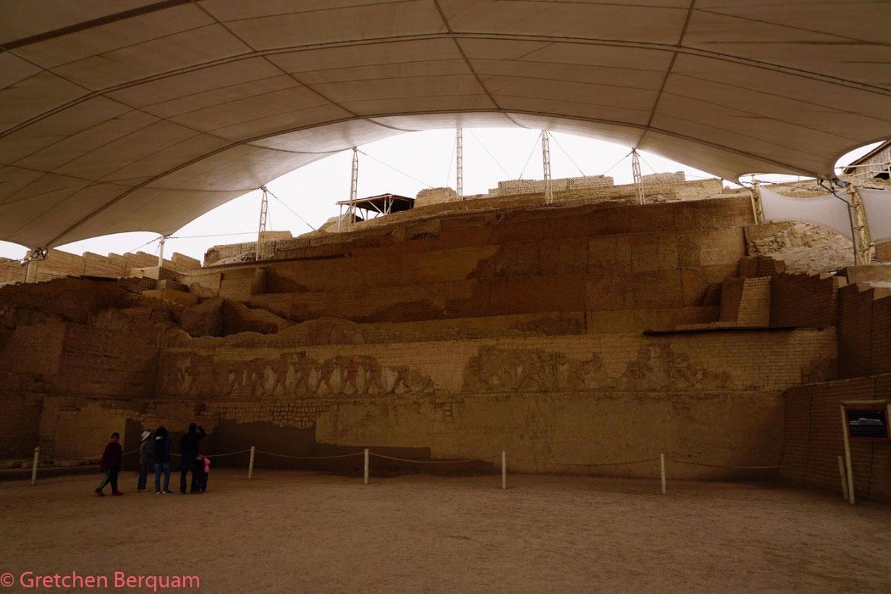 El Brujo's main excivation site