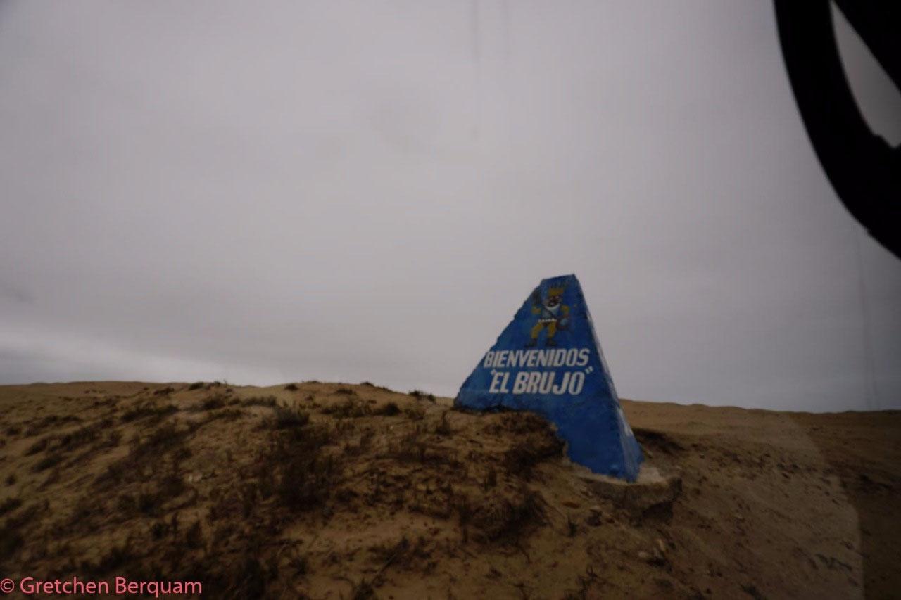 Entrance to El Brujo