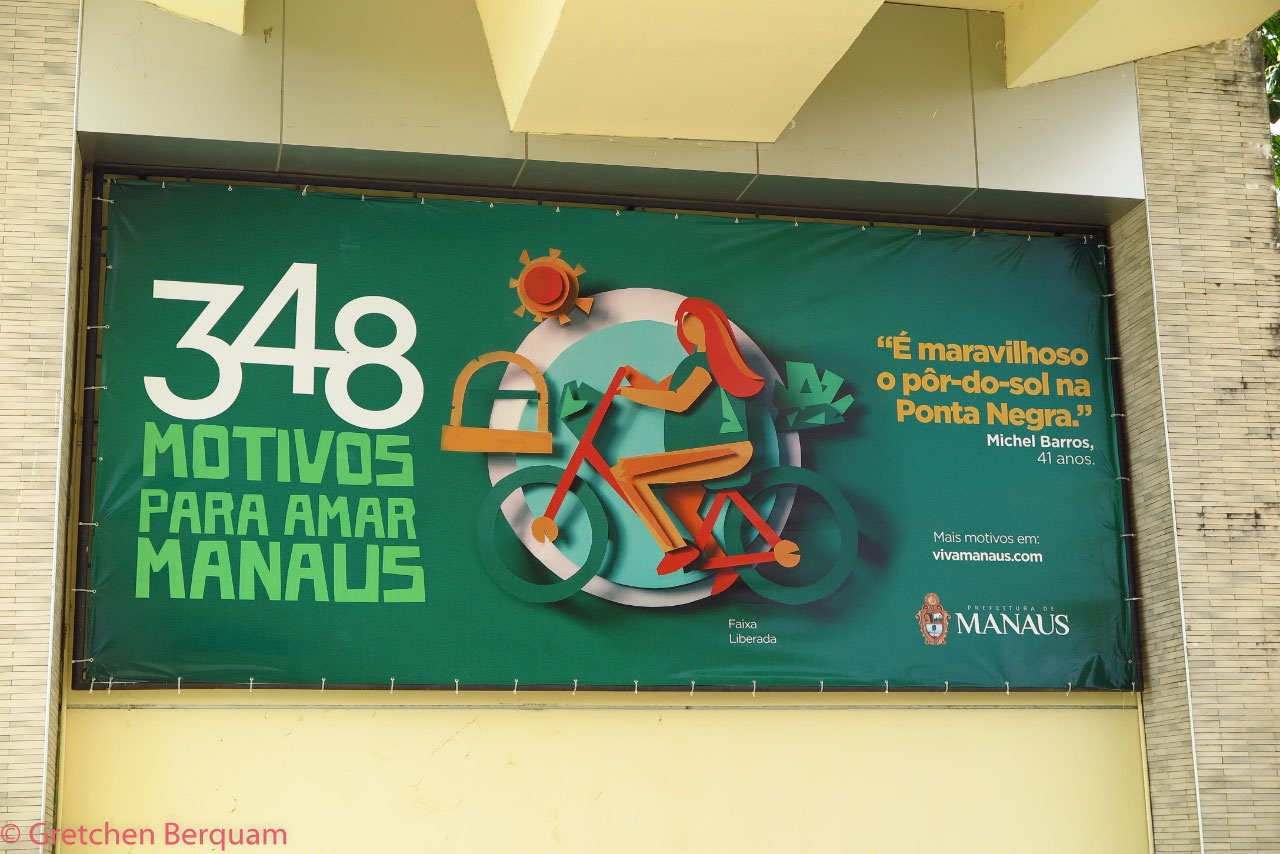 Manaus was celebrating 348 years as a city