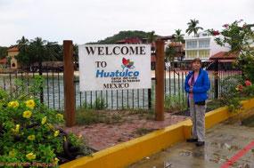 Arriving in Huatulco