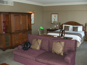 view into the Bedroom area