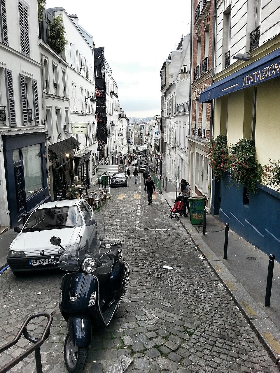Streets of Montmatre