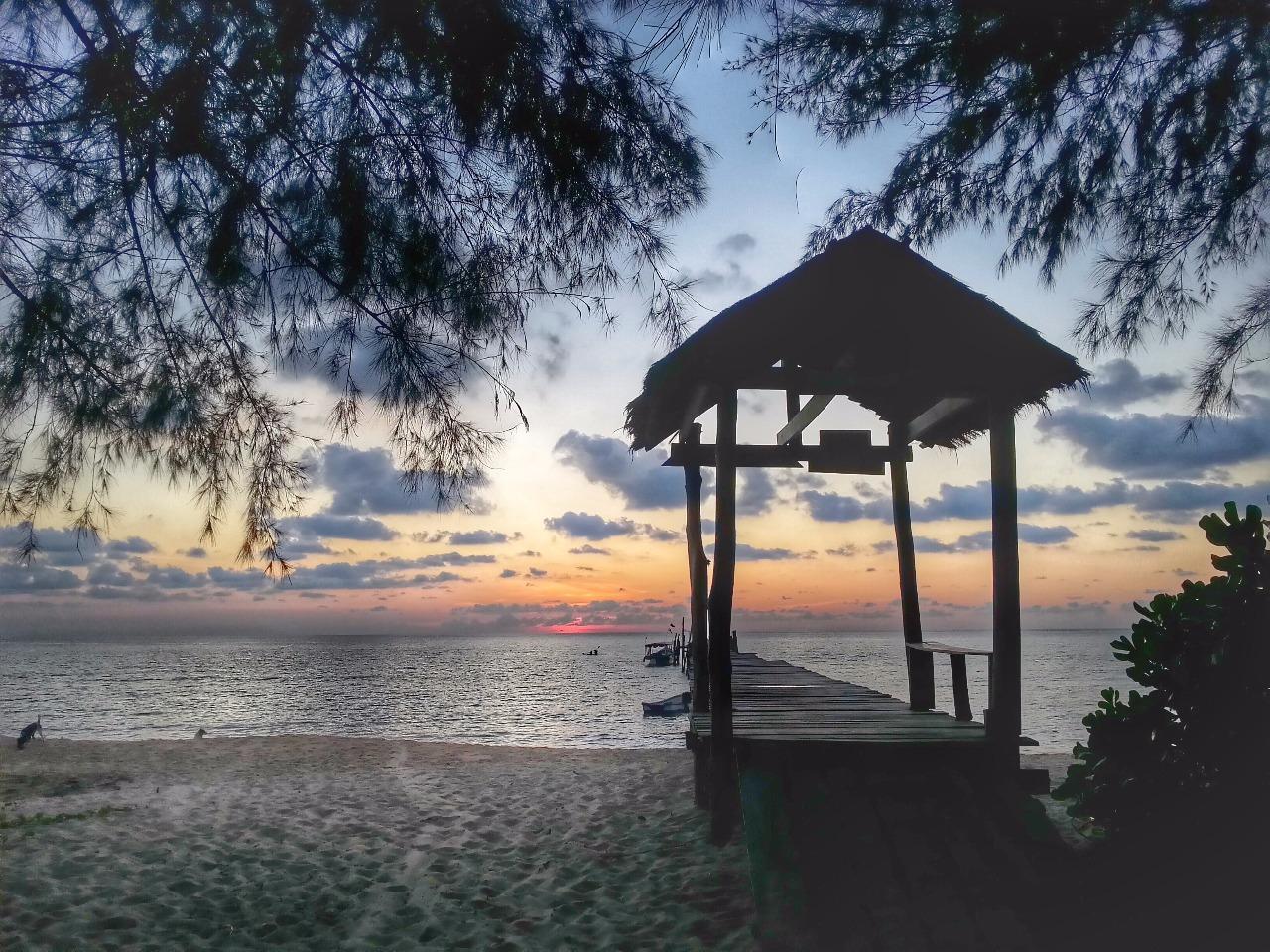 Koh Rong Samlouem sunset