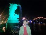In front of the draaaagon bridge