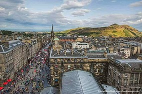 The Royal Mile (not my photo)