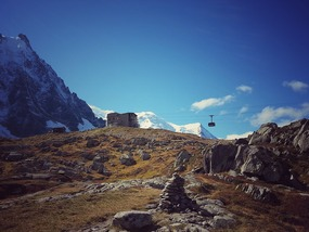 Journey up to the Aiguille du Midi