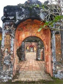 Palace gate in a gate in a...