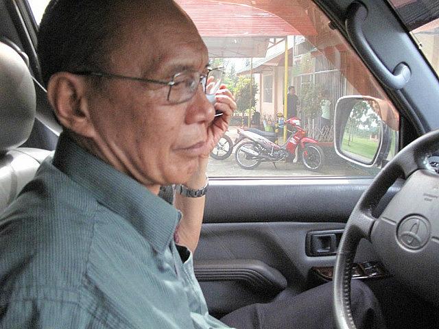 Our driver Ed Macaraeg