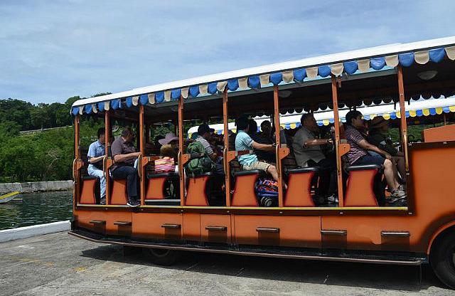 The tour of Corregidor
