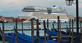 Aida cruise ship from Germany