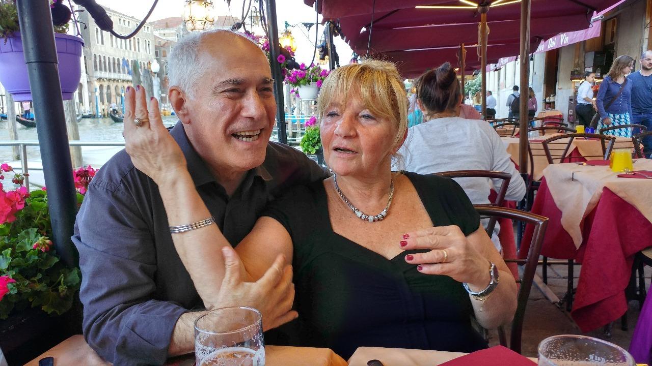 Carmelo and Antonella
