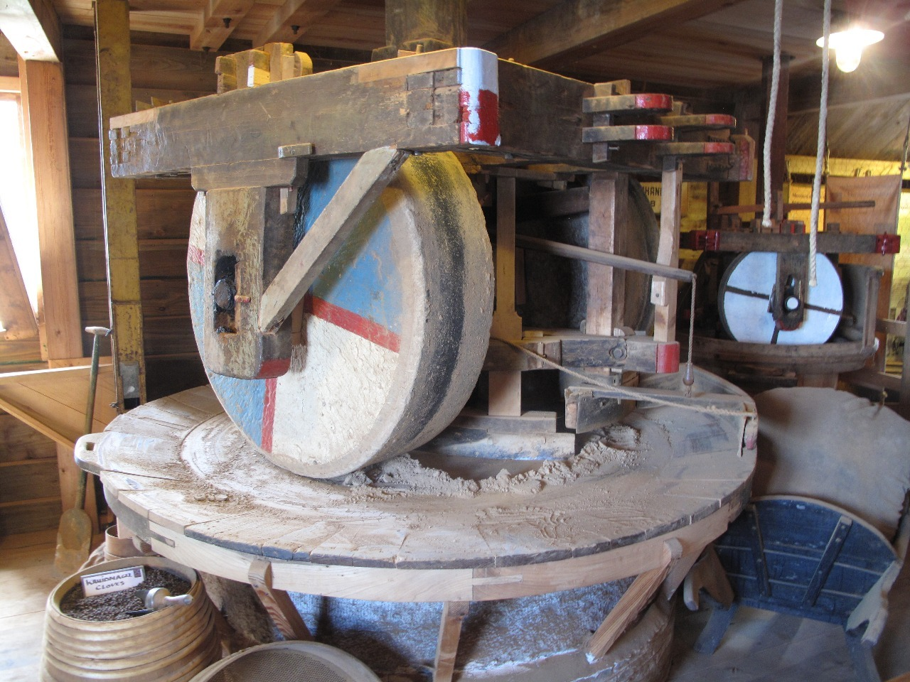 Grinder at Zaanse Schans