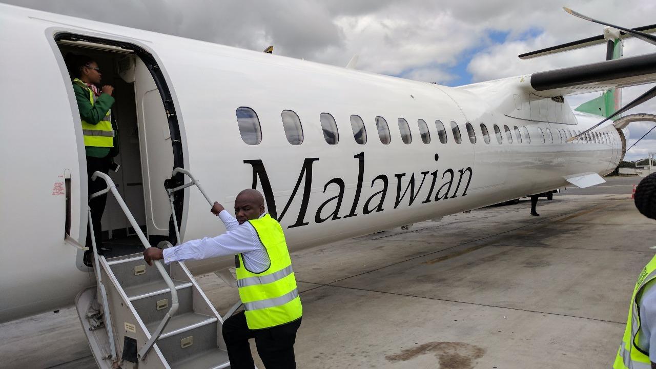 Plane to Zambia