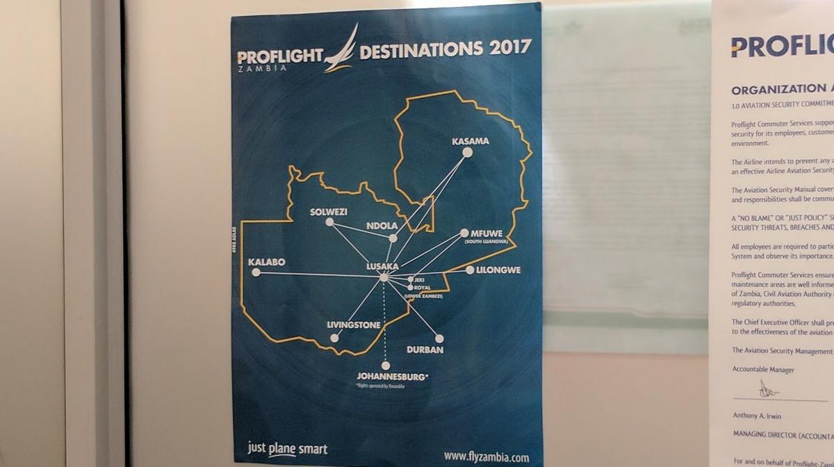 Proflite routes
