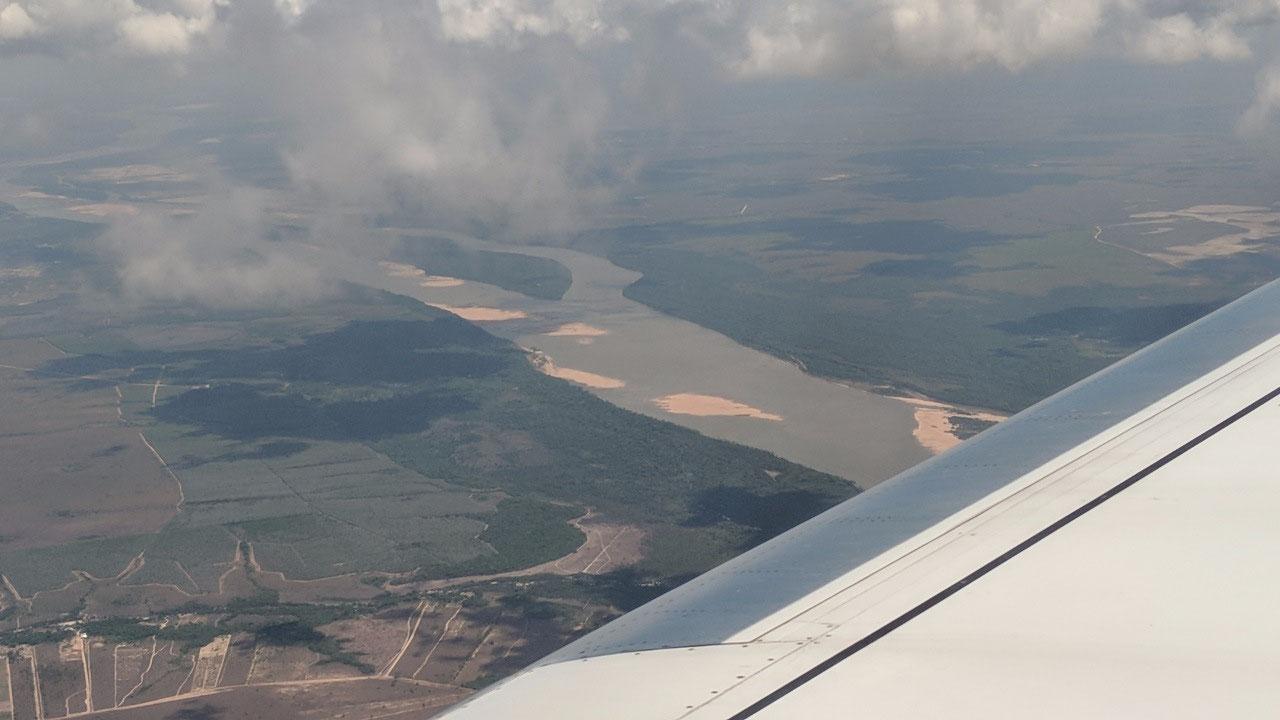 White River in Boa Vista that flows into Amazon