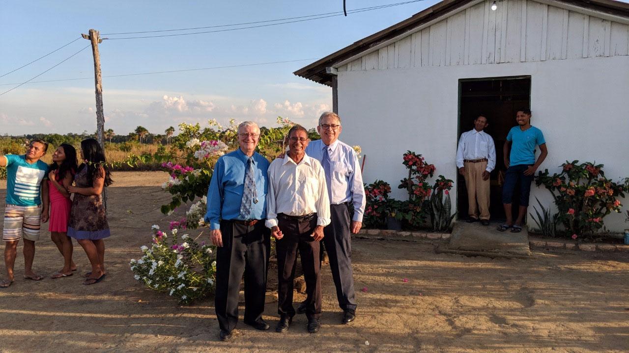 Jorge, Geraldo, Victor