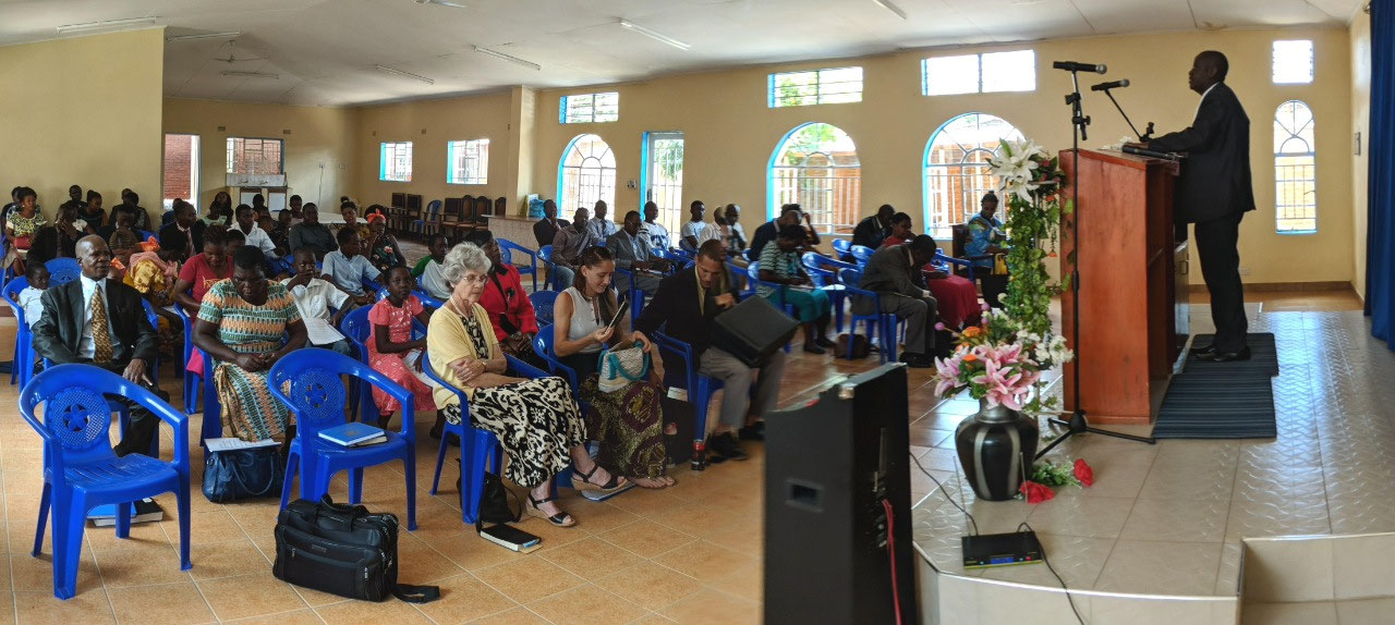 Panorama of Church services Lilongwe