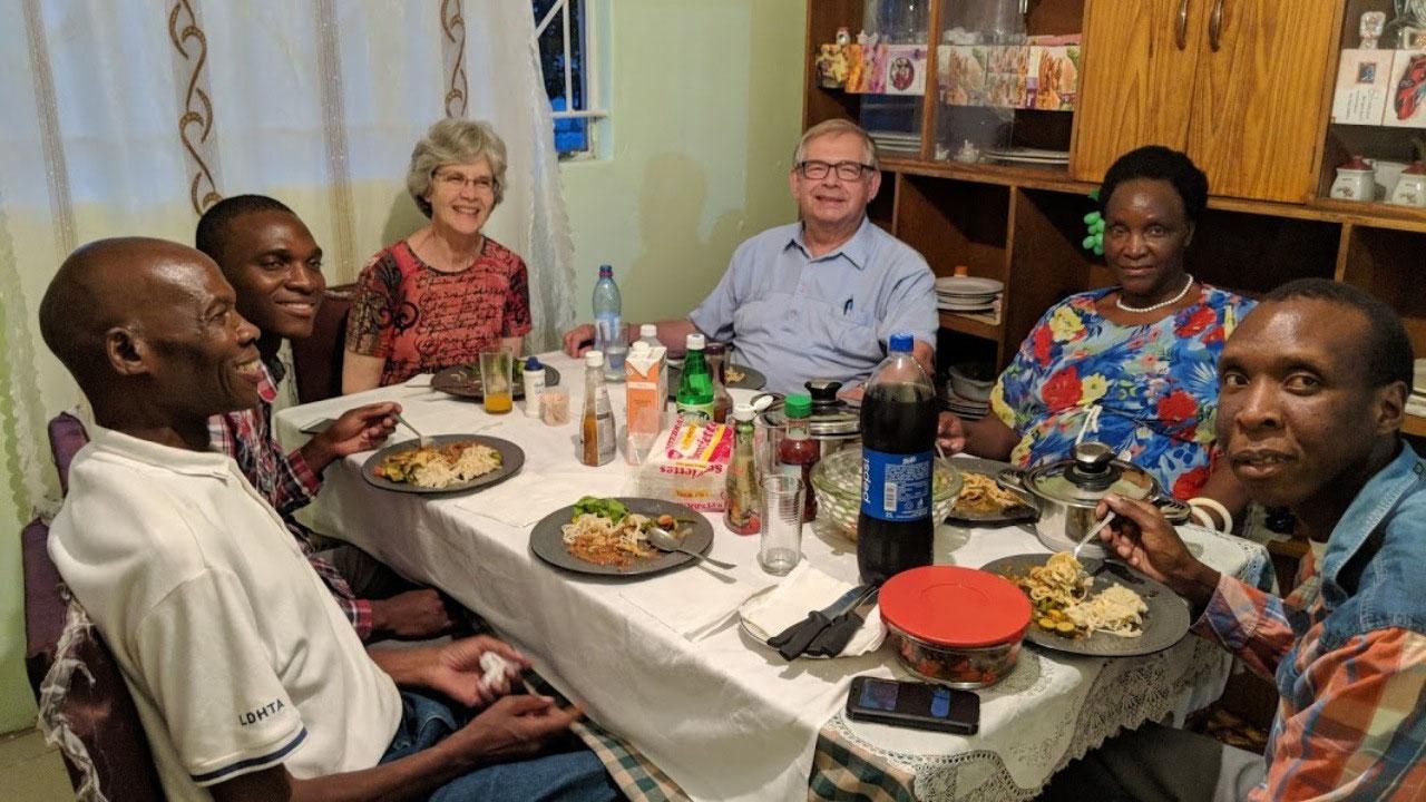 Dinner at Talama's