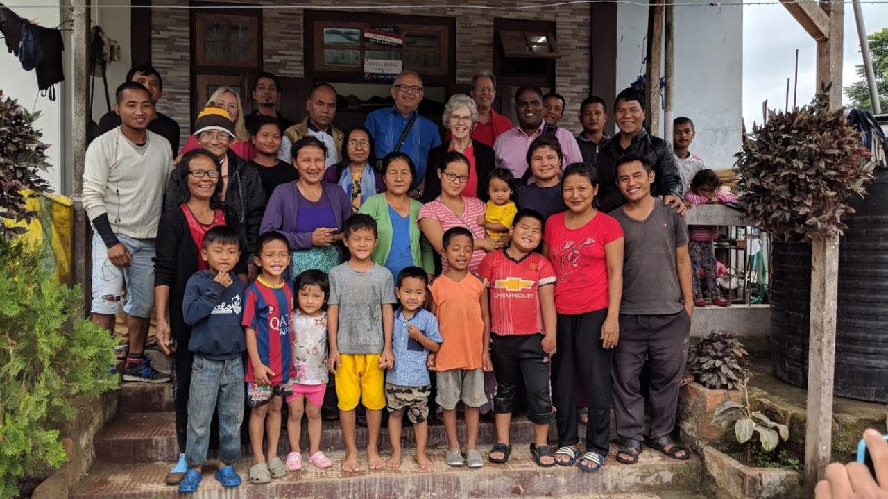 The Mualkhang, Mizoram congregation