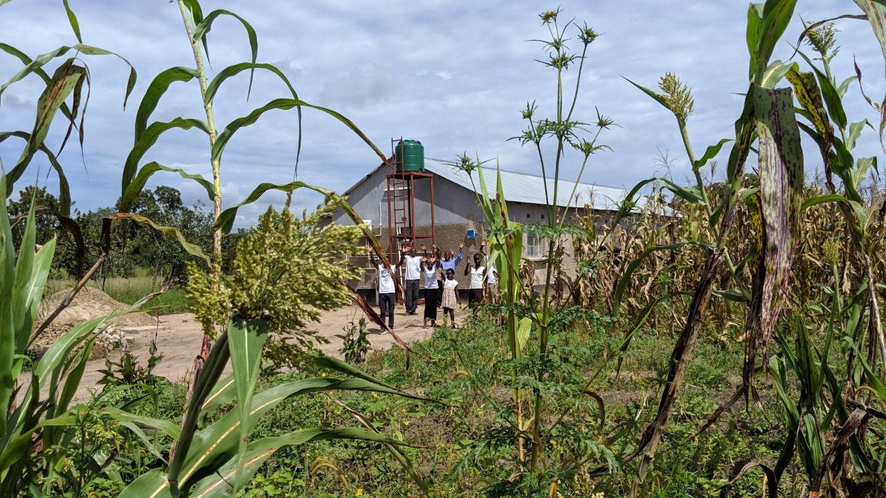 Mufumbwe building