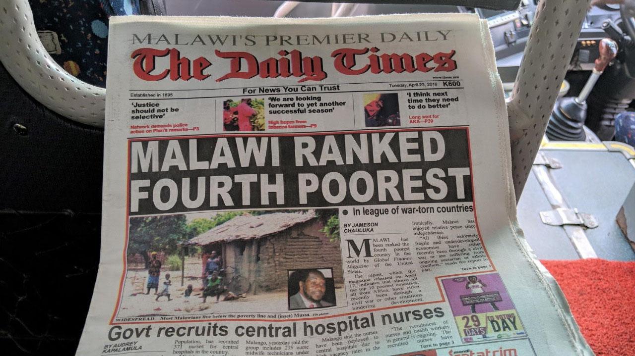 !! Today's headline
