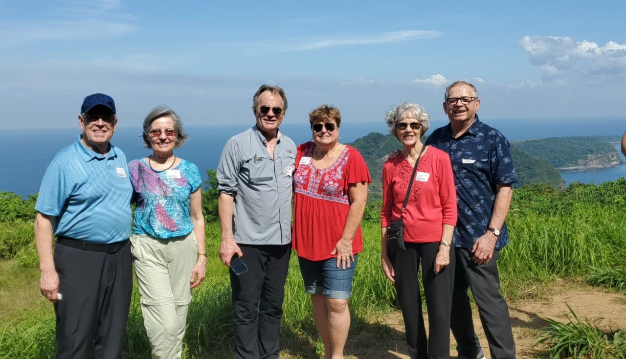 Our six-some that toured Corregidor 12-20-19