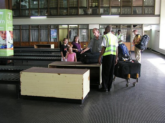 c Lockwood's going through customs in Lilongwe