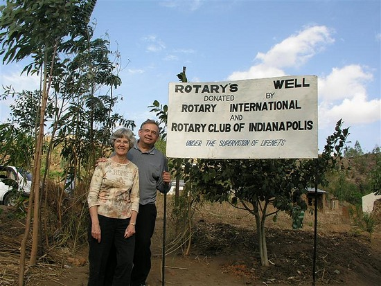 j Rotary well in Blantyre