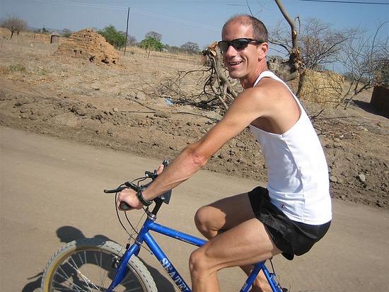 a Scott on Bike
