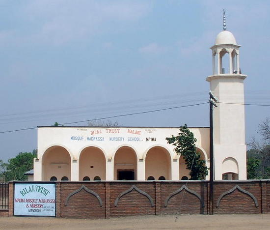 One of many mosques