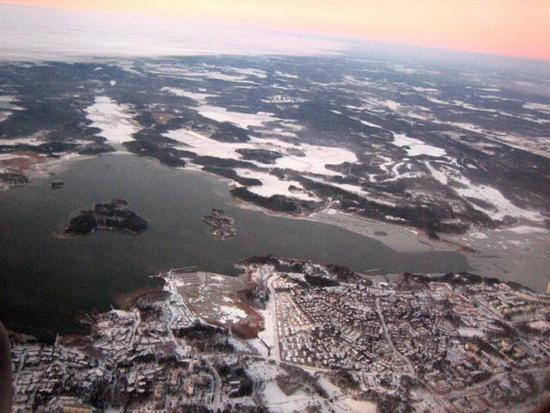 12 Helsinki from the air.