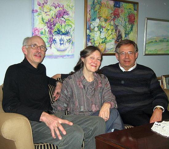 z3 Bernt, Olga and me
