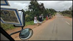 On the way to Chipata, Zambia