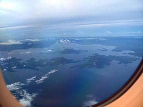 Visayas as we approach Tacloban