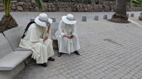 Nuns on St. Cristobal Hill