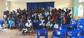 Lilongwe congregation group photo