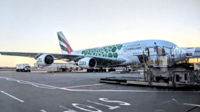 British Airways A-380 promoting Expo 2020 in Dubai