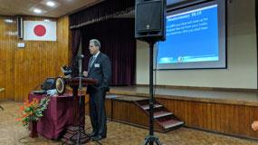 David Schreiber speaks at KOG Seminar Colombo