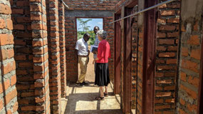 Bathing facilities at FOT site in Nkhwazi