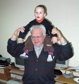 Vasyl P. with Segei