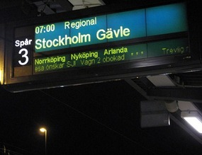 Last Stop: Stockholm!