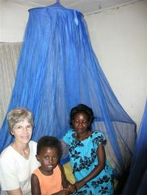 LifeNets mosquito nets -- Nets Save Lives