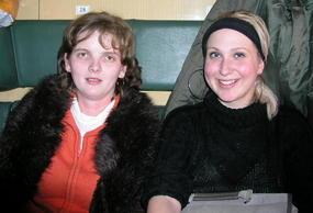 Renata and Melinda