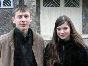 Slava and sister Edita